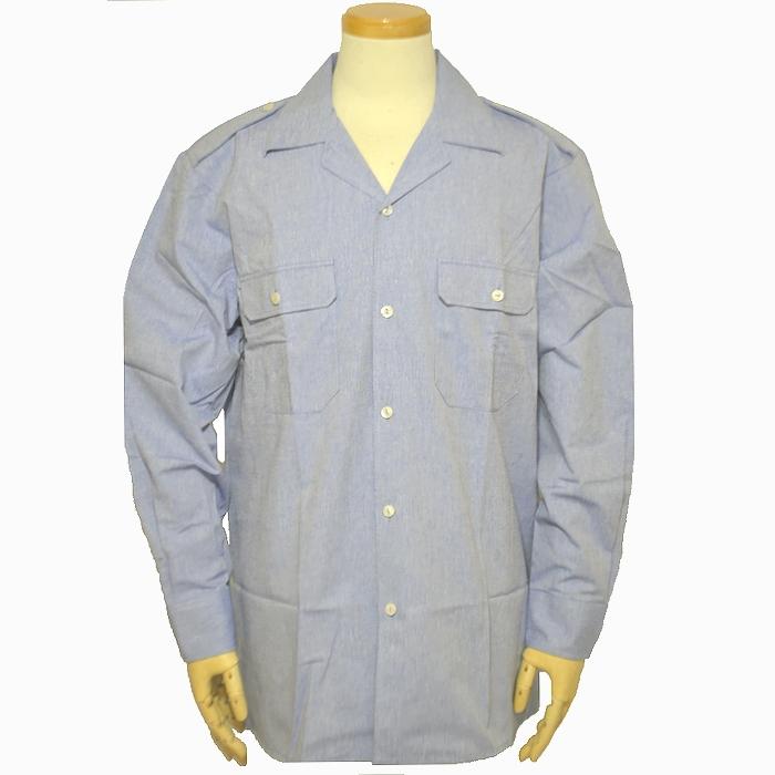 フランス海軍 長袖シャンブレーシャツ 2Lサイズ 未使用・新品の商品画像