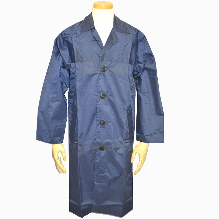 フランス空軍 ナイロン製ロングコート(簡易防水性) S〜Lサイズ 未使用・新品の商品画像