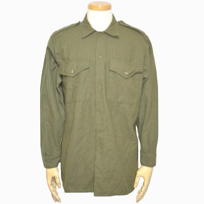 イギリス軍 ODウールシャツ Lサイズ USED品の商品画像