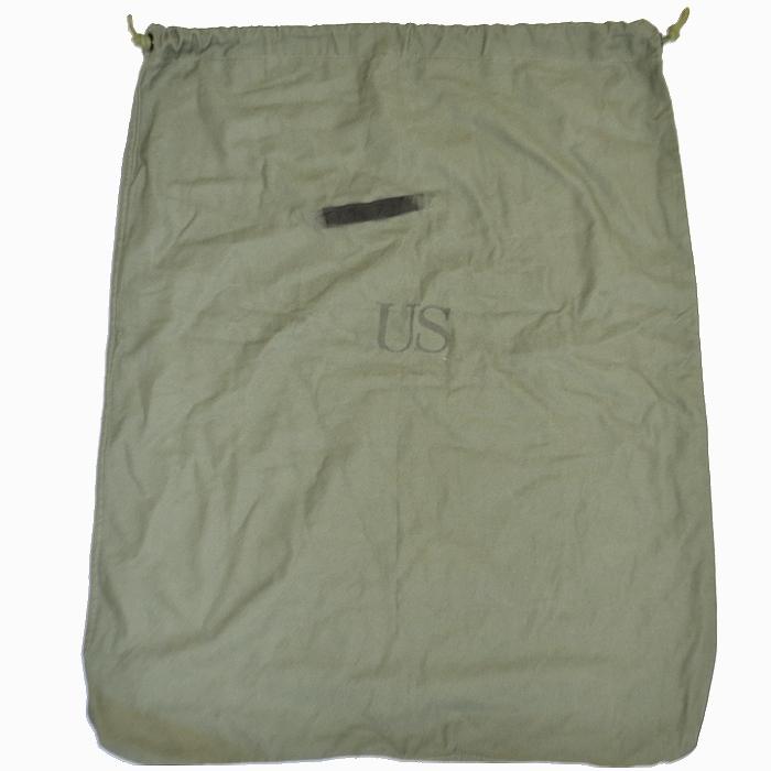 米軍実物 CG-483 OD コットン製ランドリーバッグ USED良品の商品画像