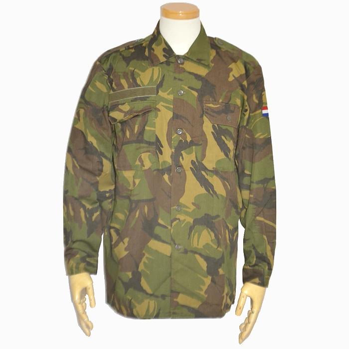 オランダ軍 DPMカモフィールドシャツ L・XLサイズ 未使用・新品の画像
