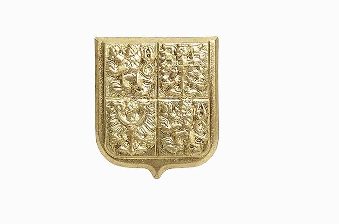 チェコ軍 金属製徽章(Insignia) 未使用・新品の画像1