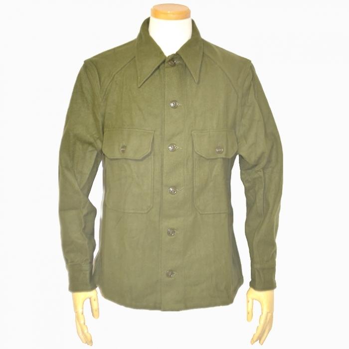 50s 米陸軍 ウールフィールドシャツ OG108 MEDIUM 未使用・新品の画像