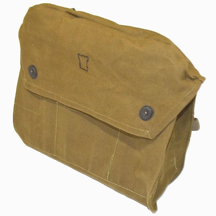 フィンランド軍 コットンキャンバス製ショルダーバッグ 未使用・新品の画像