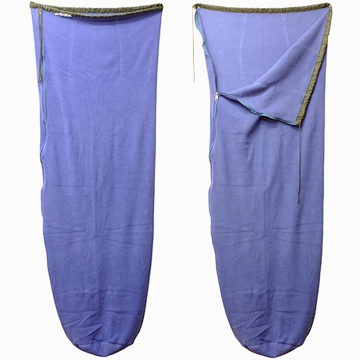 スイス軍 シュラフ・寝袋用 防寒フリースライナー USED品の画像