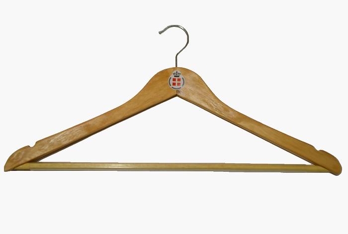 デンマーク軍 木製ハンガー 未使用・新品の画像