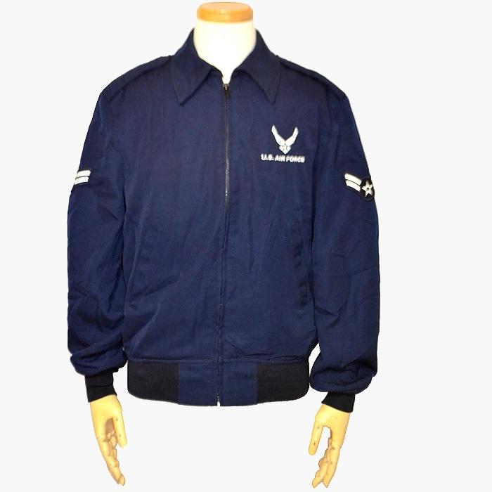 米空軍(USAF)ライトウェイトジャケット ネイビー Mサイズ ポリエステル / ウール生地 USED品の画像