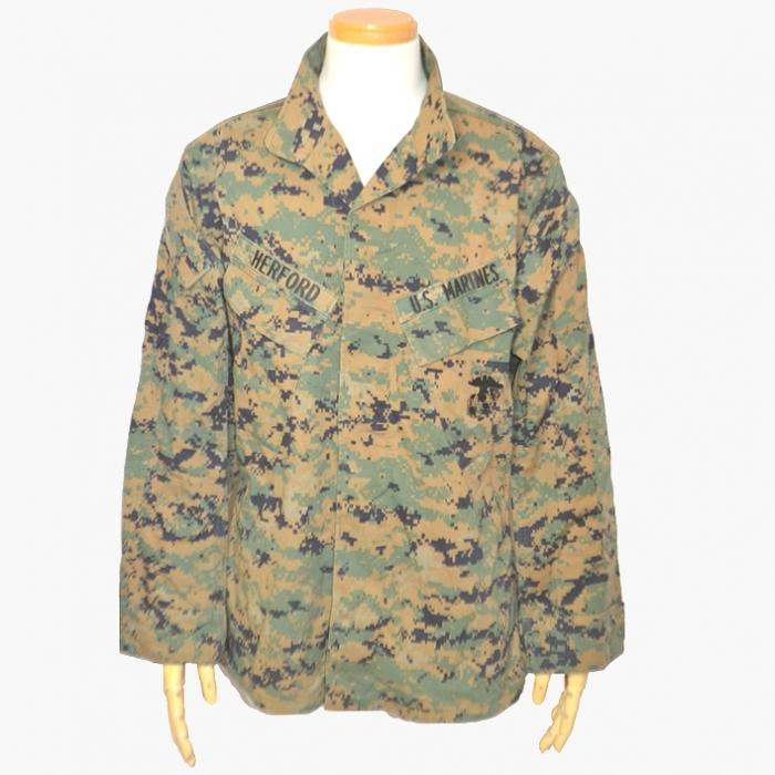 USMC(米海兵隊) ウッドランド・マーパットジャケット アメリカンアパレル社製 Mサイズ USED品の画像