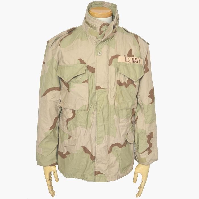 米軍実物 M-65フィールドジャケット / 3Cデザートカモ S-S(Mサイズ) USED良品の画像