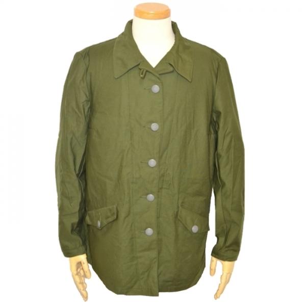 【男女兼用】70s スウェーデン軍実物 女性用フィールドジャケット / OD 男性S・女性L USED極上品の画像