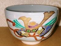 かぶと絵茶碗 東山  4200円