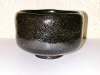 黒楽茶碗 #1 桂窯  6000円