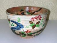 春の小川茶碗 陶舟  5500円