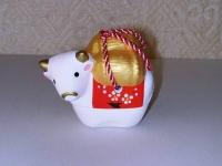 俵牛香合 昭峰  1470円