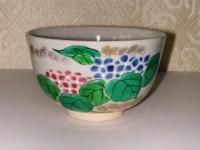 御本手 紫陽花茶碗 東山  4200円