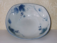 染付け葡萄菓子鉢 三峰  1890円