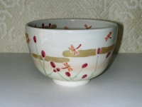 吾亦紅に蜻蛉茶碗 東山  5775円