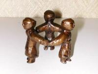 唐銅蓋置き 人形  5000円