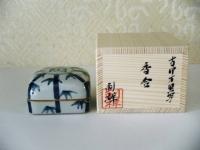 H22干支香合 古伊万里 竹寅  4500円(モミ箱)