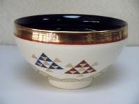 天目型 青海波に鱗文茶碗 貴山  3780円