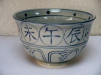 安南 十二支茶碗 瑞豊  3150円