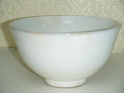 粉引き抹茶碗 羊