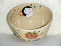 節分抹茶碗 東山作 4,400円(税込価格¥4,752)