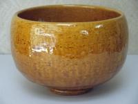 飴釉楽抹茶碗