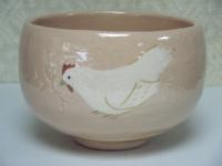 啐啄同時 鶏抹茶碗 桂山 ¥12,000(税込価格¥12,960)