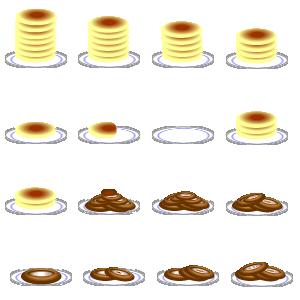 ホットケーキ&ドーナッツ