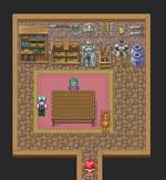地下居住区の地下の一室