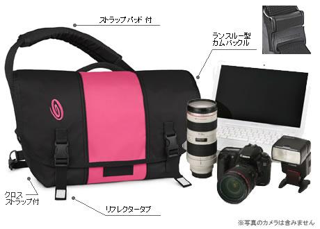 TIMBUK2 カメラインナー付きラップトップメッセンジャー