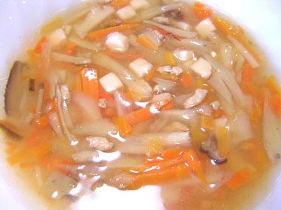 根菜和風スープ
