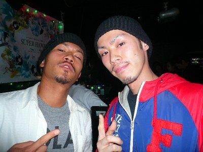 DJ KEKKEと同い年のDJ仲間