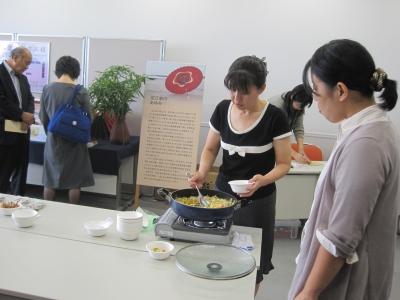 竹の子の水煮試食