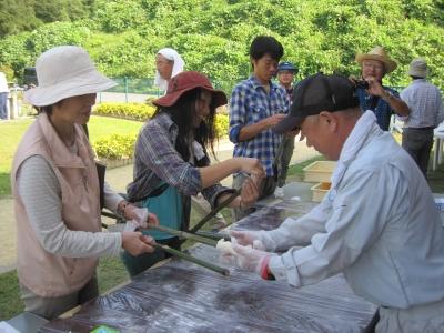 竹パン造り