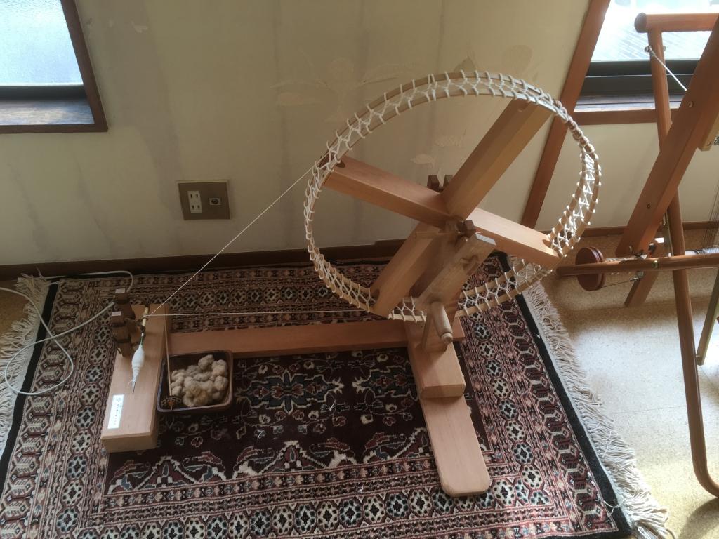 松江の家の糸車