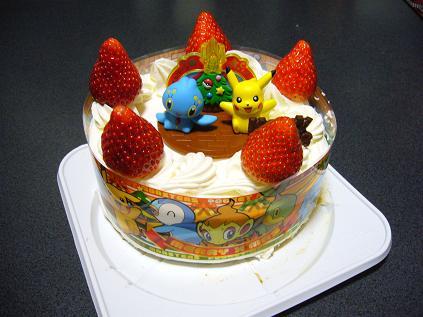2006ポケモンXマスケーキ