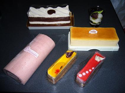 おいしいケーキ
