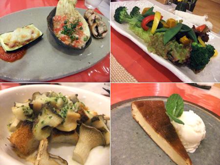 北軽井沢のペンション「南季の灯」の夕食