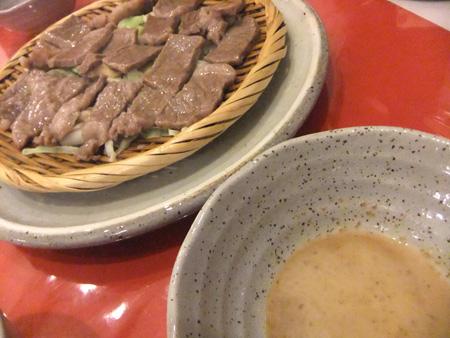 北軽井沢のペンション「南季の灯」の夕食(国産黒毛和牛のせいろ蒸し)