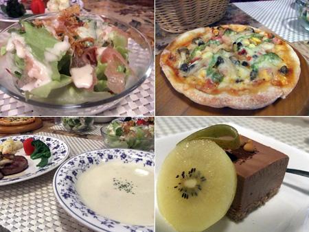 ペットと泊まれるペンション 軽井沢 リンデンバームの夕食