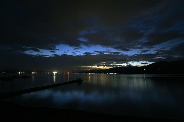 山中湖 夜景