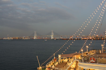 大桟橋の夜景