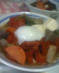家の朝飯1