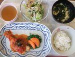 27鱈トマト煮・つなサラダ・かき玉若布