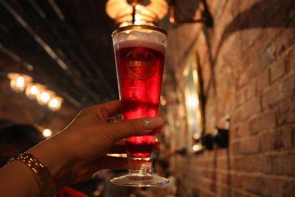札幌ファクトリー・ハスカップビール