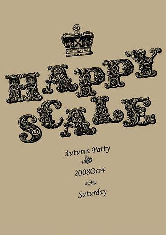 happyscale Vol.33 - Autum Party -