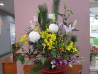 H28.12 お正月の花