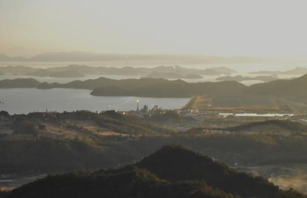 2019-01-14 新岡山港の夕陽 001.JPG